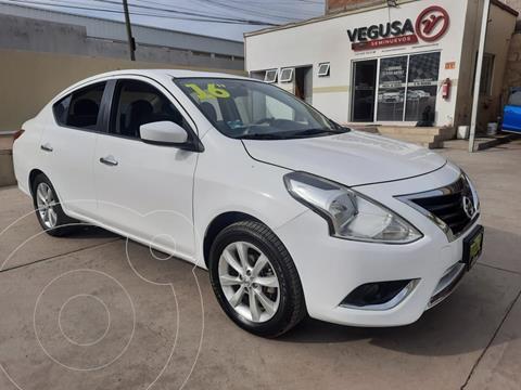 Nissan Versa Advance usado (2016) color Blanco precio $169,000