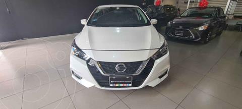 Nissan Versa Advance usado (2020) color Blanco precio $260,000