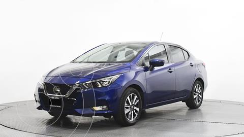 Nissan Versa Advance usado (2020) color Azul precio $284,500