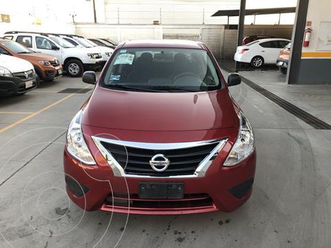 Nissan Versa Drive usado (2018) color Rojo financiado en mensualidades(enganche $46,044 mensualidades desde $3,661)