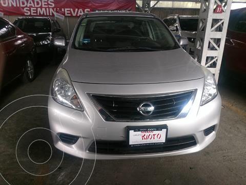 Nissan Versa Sense  usado (2014) color Plata financiado en mensualidades(enganche $39,598 mensualidades desde $3,981)