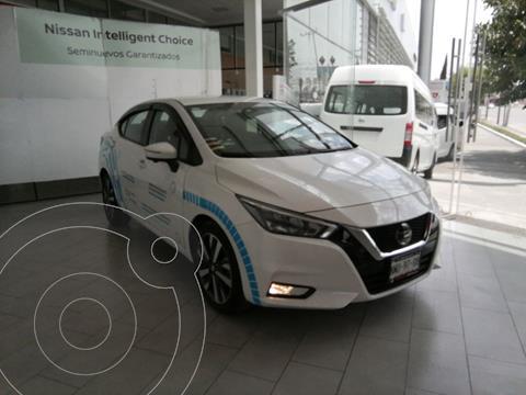 Nissan Versa Platinum Aut   usado (2021) color Blanco precio $310,000