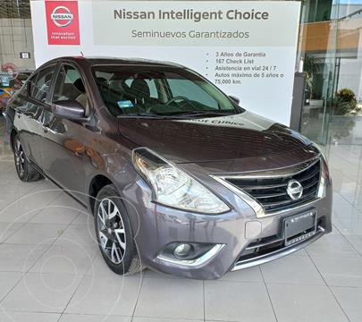 Nissan Versa Advance usado (2019) color Gris Oscuro precio $235,000