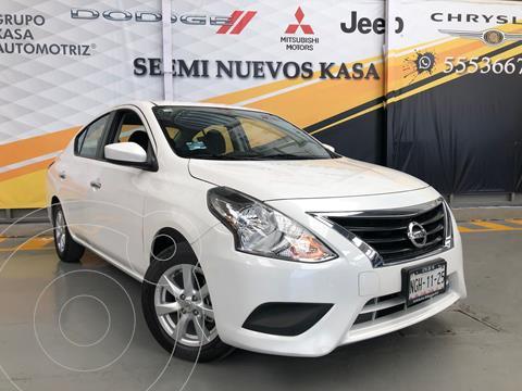 Nissan Versa Sense Aut usado (2019) color Blanco precio $210,000