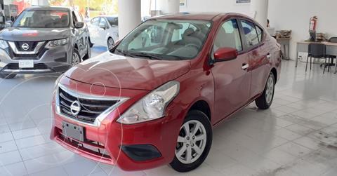 Nissan Versa Sense Aut usado (2019) color Rojo precio $173,900