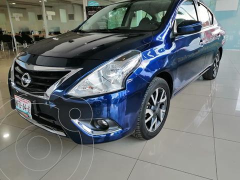 Nissan Versa Exclusive NAVI Aut usado (2018) color Azul precio $179,900