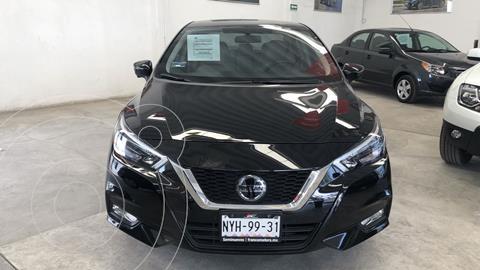 Nissan Versa Platinum Aut usado (2020) color Negro financiado en mensualidades(enganche $79,904 mensualidades desde $6,567)