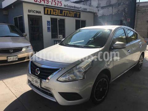 Nissan Versa Sense usado (2018) color Plata precio $168,000