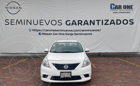Nissan Versa Sense  usado (2014) color Blanco precio $129,900