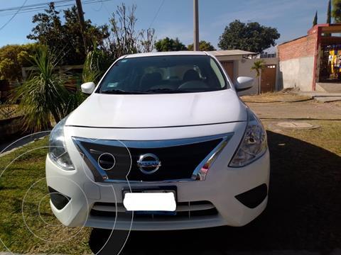 Nissan Versa Sense Aut usado (2018) color Blanco precio $190,000