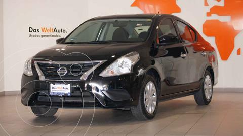 Nissan Versa Sense usado (2017) color Negro precio $185,900