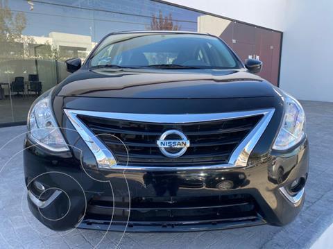 Nissan Versa Advance Aut usado (2018) color Negro precio $190,000