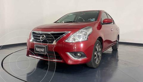 Nissan Versa Exclusive Aut  usado (2015) color Rojo precio $159,999
