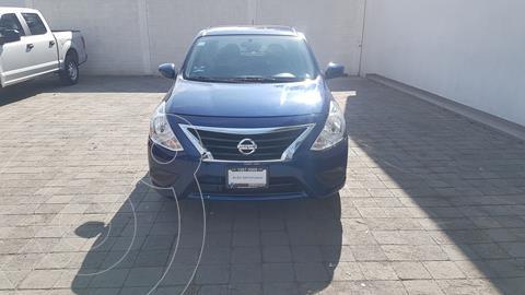Nissan Versa Sense usado (2018) color Azul precio $164,000