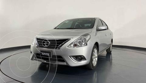 Nissan Versa Advance usado (2018) color Plata precio $199,999