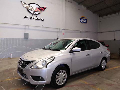 Nissan Versa Sense Aut usado (2015) color Plata precio $124,900
