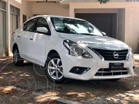Nissan Versa Sense usado (2019) color Blanco precio $199,000