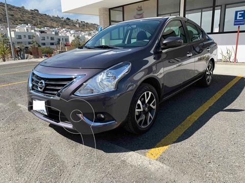 Nissan Versa Advance usado (2019) color Gris Oscuro precio $225,000