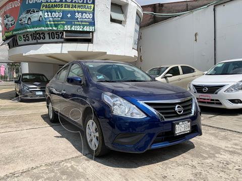 Nissan Versa Sense usado (2019) color Azul precio $199,900