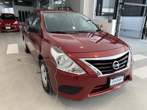 Nissan Versa Drive usado (2020) color Rojo precio $170,000