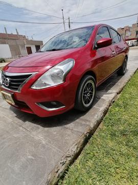 Nissan Versa  1.6L Advance Aut usado (2015) color Rojo precio u$s8,000