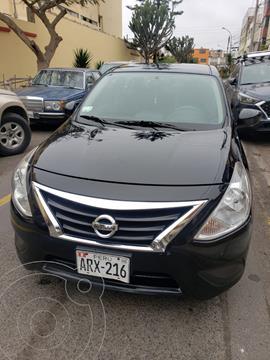 Nissan Versa  1.6L Sense  usado (2016) color Negro precio u$s9,000
