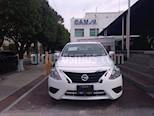 Foto venta Auto usado Nissan Versa SENSE A/T A/C 1.6L color Blanco precio $189,000