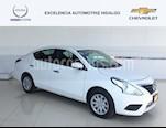 Foto venta Auto usado Nissan Versa Sense Aut (2018) color Blanco precio $205,000