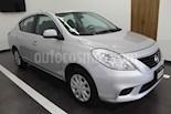Foto venta Auto usado Nissan Versa Sense Aut (2014) color Plata precio $127,000