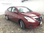 Foto venta Auto Seminuevo Nissan Versa SENSE MT (2018) color Rojo Burdeos precio $205,000