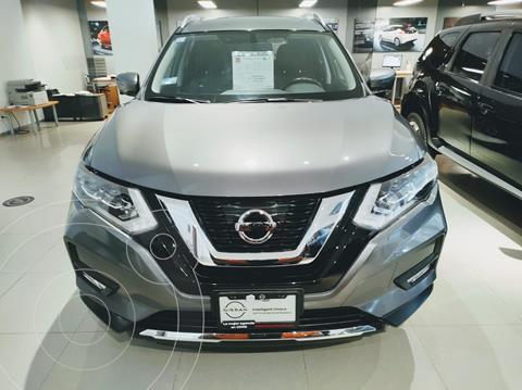 Nissan X-Trail SLX 2.5L Lujo Aut  usado (2019) color Gris precio $475,000