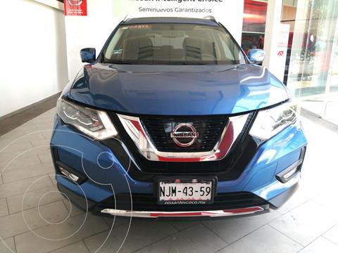 Nissan X-Trail Exclusive 2 Row Hybrid usado (2019) color Azul financiado en mensualidades(enganche $91,400 mensualidades desde $16,500)