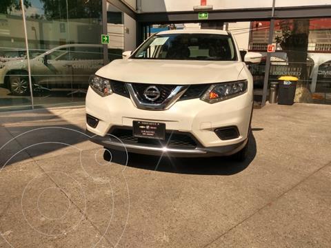 Nissan X-Trail Sense 3 Row usado (2016) color Blanco financiado en mensualidades(enganche $23,990)