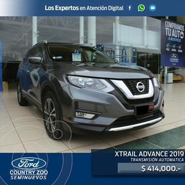 Nissan X-Trail Advance 2 Row usado (2019) color Gris Oscuro precio $414,000