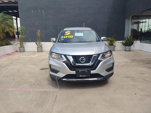 Nissan X-Trail Sense 3 Row usado (2018) color Plata Dorado precio $335,000