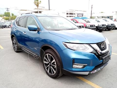 Nissan X-Trail Exclusive 2 Row Hybrid usado (2020) color Azul precio $600,000