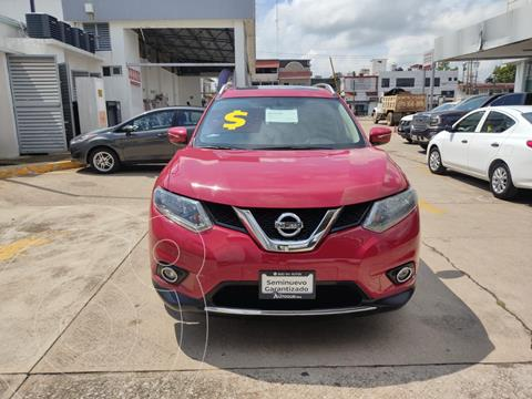 Nissan X-Trail Advance 2 Row usado (2017) color Negro precio $315,000
