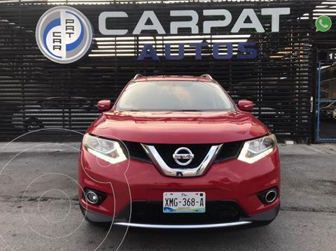 Nissan X-Trail Exclusive 2 Row usado (2015) color Rojo precio $249,000