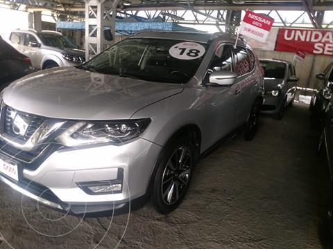 Nissan X-Trail Exclusive 3 Row usado (2018) color Plata financiado en mensualidades(enganche $81,363 mensualidades desde $9,126)