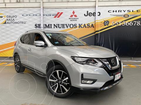 Nissan X-Trail Exclusive 2 Row usado (2019) color Plata Dorado precio $499,000