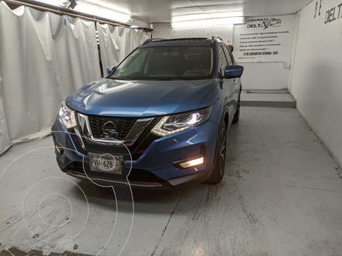 Nissan X-Trail Exclusive 2 Row usado (2018) color Azul precio $355,000