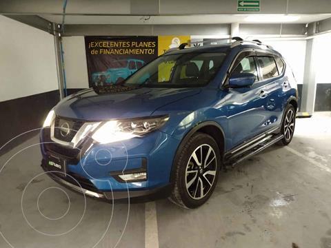 Nissan X-Trail Exclusive 3 Row usado (2019) color Azul precio $415,000