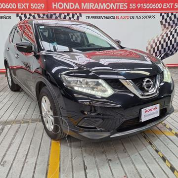 Nissan X-Trail Sense 2 Row usado (2015) color Negro financiado en mensualidades(enganche $61,250 mensualidades desde $7,000)