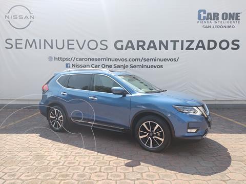 Nissan X-Trail Exclusive 2 Row usado (2018) color Azul Metalico precio $379,900