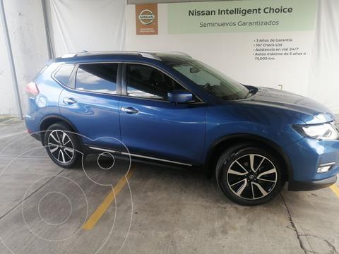 Nissan X-Trail Exclusive 2 Row usado (2018) color Azul Acero precio $420,000
