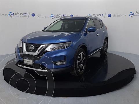 Nissan X-Trail Exclusive 2 Row usado (2019) color Azul precio $469,000