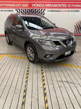 Nissan X-Trail Exclusive 3 Row usado (2016) color Gris Metalico financiado en mensualidades(enganche $81,250 mensualidades desde $7,554)