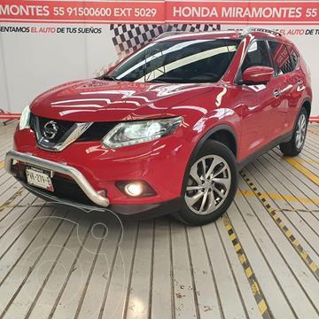 Nissan X-Trail Exclusive 2 Row usado (2017) color Rojo precio $325,000