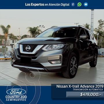 Nissan X-Trail Advance 2 Row usado (2019) color Gris Oscuro precio $419,000