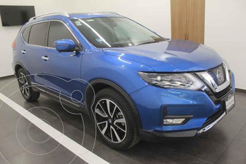 Nissan X-Trail Exclusive 3 Row usado (2019) color Azul precio $485,000
